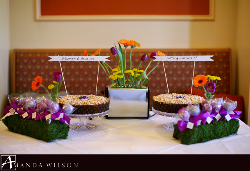 her bridesmaids chose the cornerstone restaurant in aspinwall as the location it was a beautiful space with bright sunny windows and warm colors