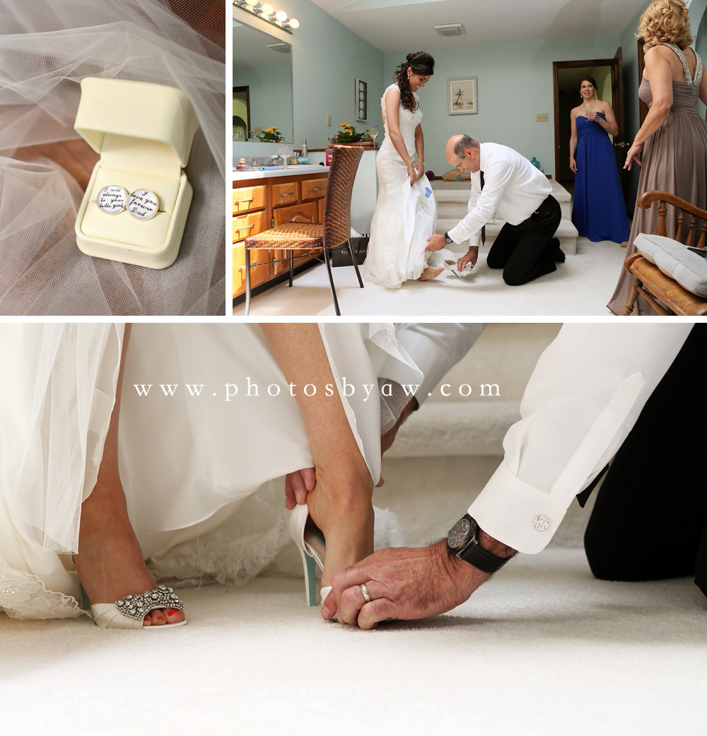 brides_father_puts_on_her_shoes