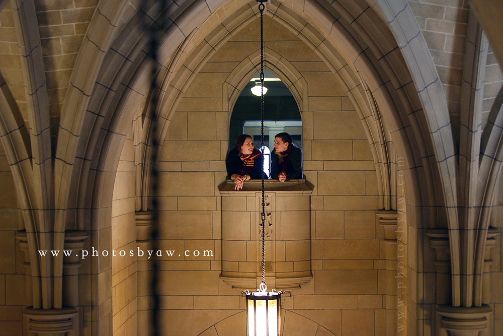 hogwarts engagement photos