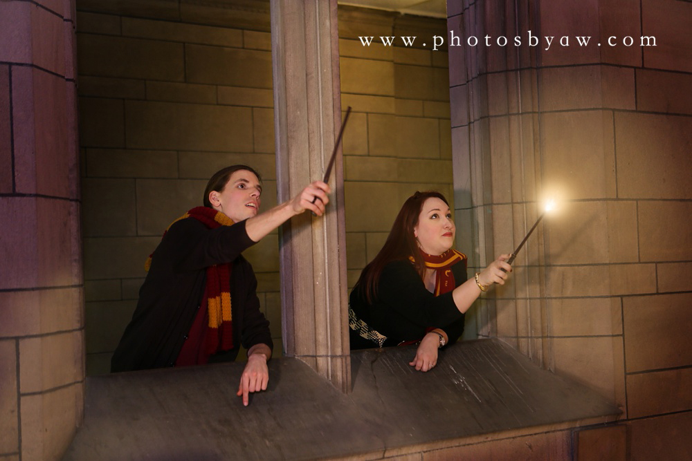 harry potter engagement photos