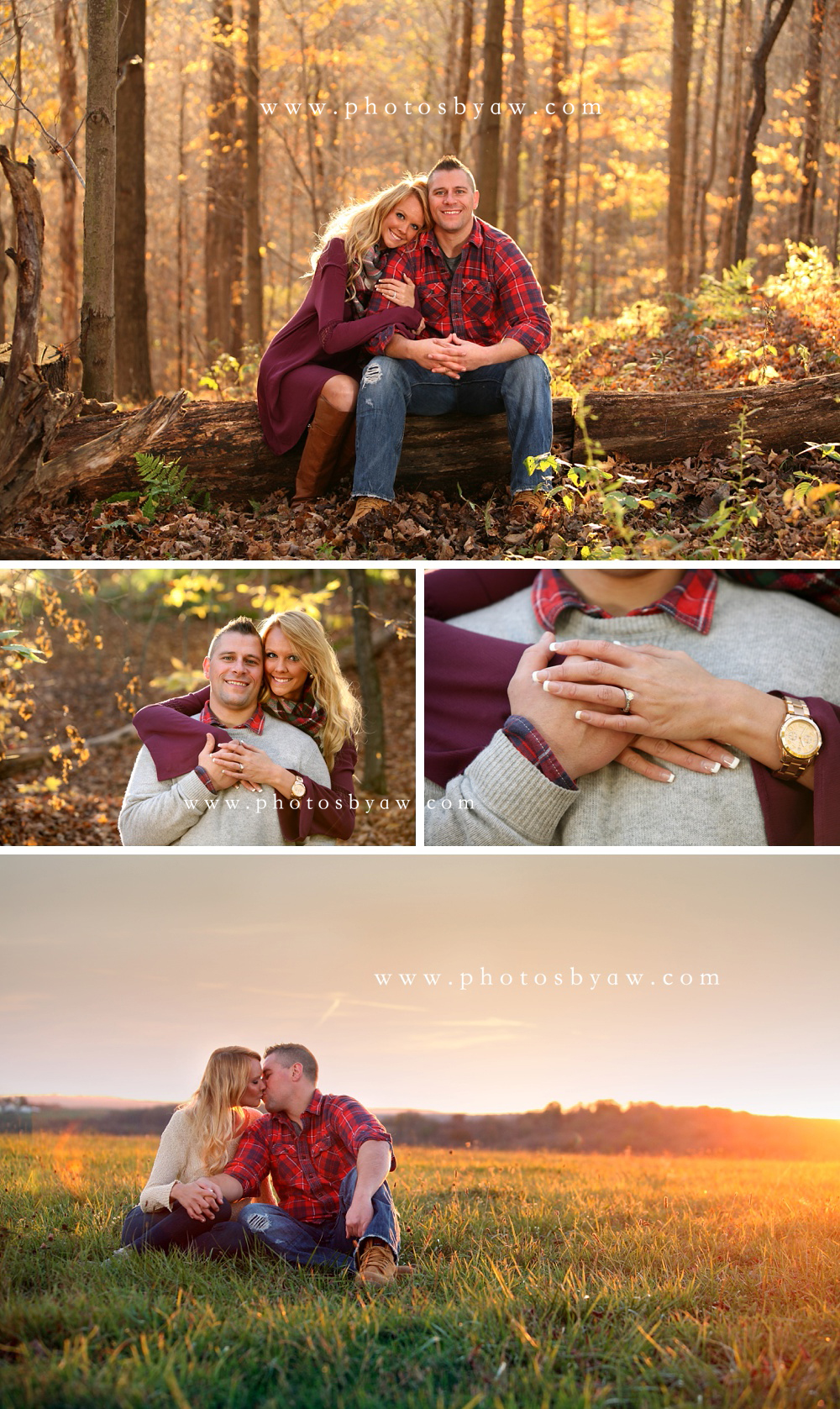 engagement photos cambria county pa