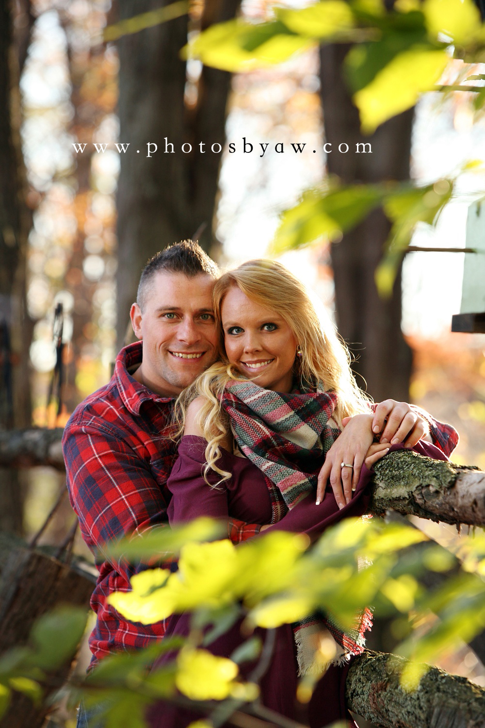 fall engagement photos ebensburg PA
