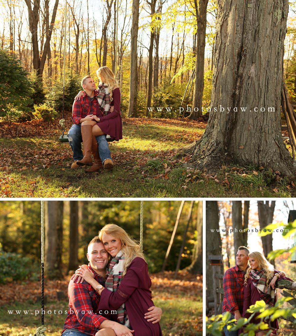 fall tree swing photos