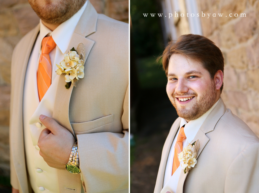 groom_khaki_suit_orange_tie